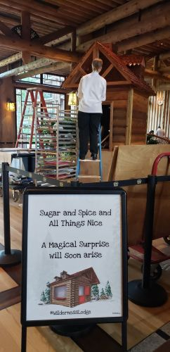 Gingerbread Cabin at Wilderness Lodge is Almost Here! 2