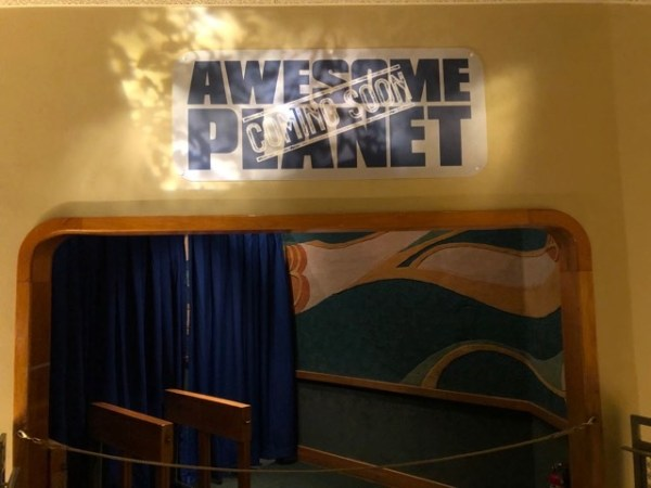 "New ""Awesome Planet"" Sign Up in the Land Pavilion in Epcot"