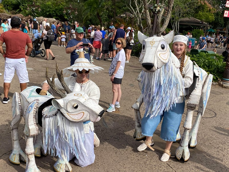 Merry Menagerie Debuts At Disney's Animal Kingdom!