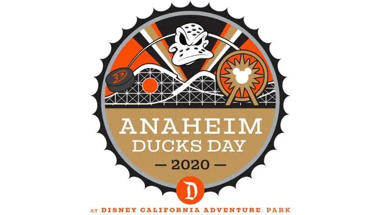 Anaheim Ducks Day Return To Disney California Adventure