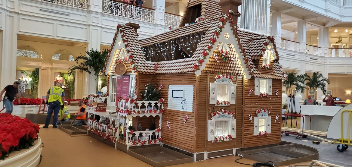 Grand Floridian Gingerbread House Is Almost Here!