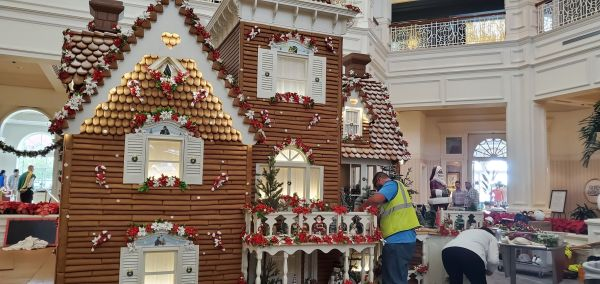 Grand Floridian Gingerbread House Is Almost Here! 2