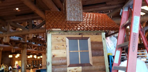 Gingerbread Cabin at Wilderness Lodge is Almost Here! 4