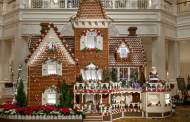Disney Decks the Halls With Gingerbread Displays at the Parks and Resorts