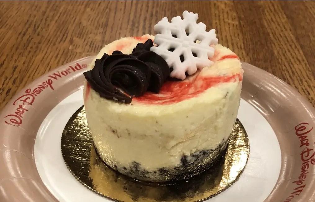 Peppermint Cheesecake: New Holiday Dessert at Walt Disney World