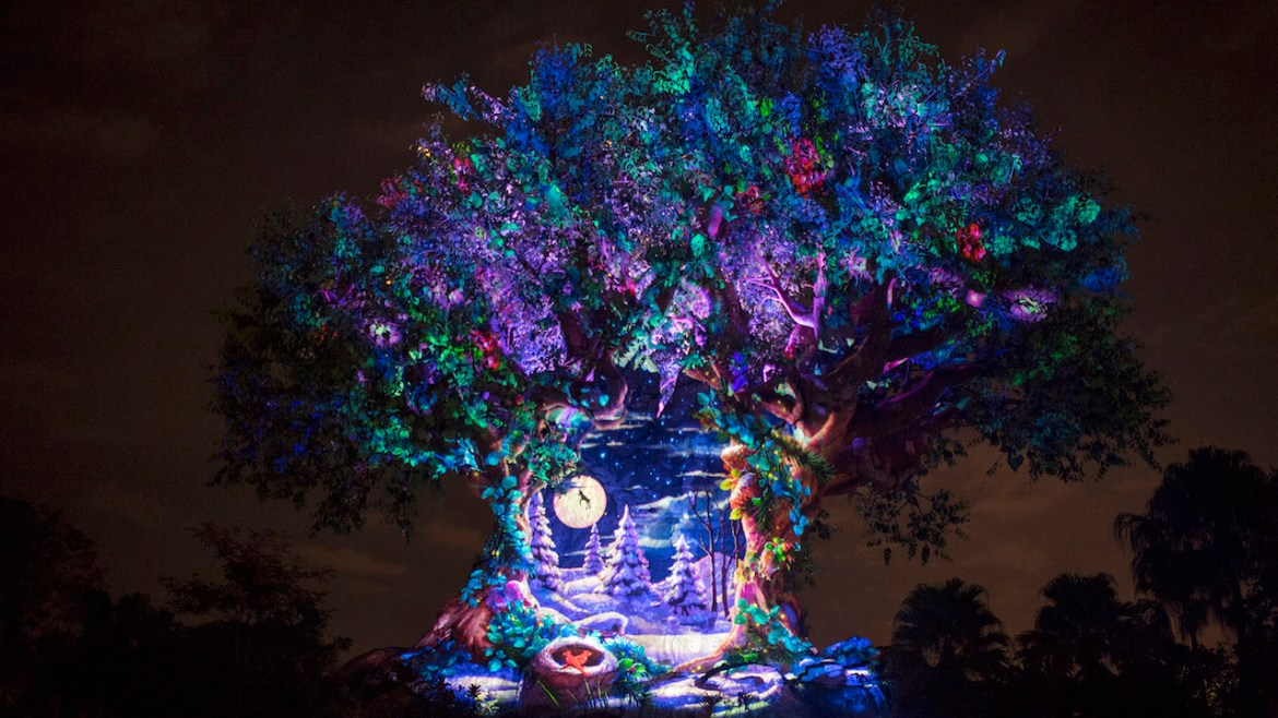 Holiday Projections and Decor Debut at Animal Kingdom