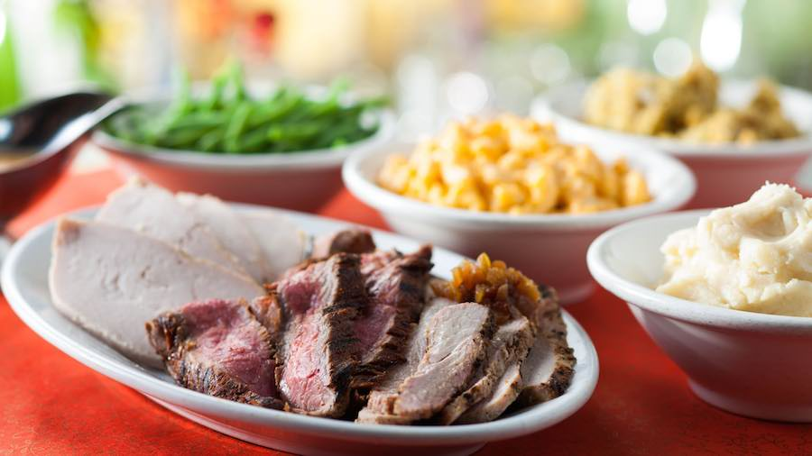 Thanksgiving Day Dining at the Disneyland Resort