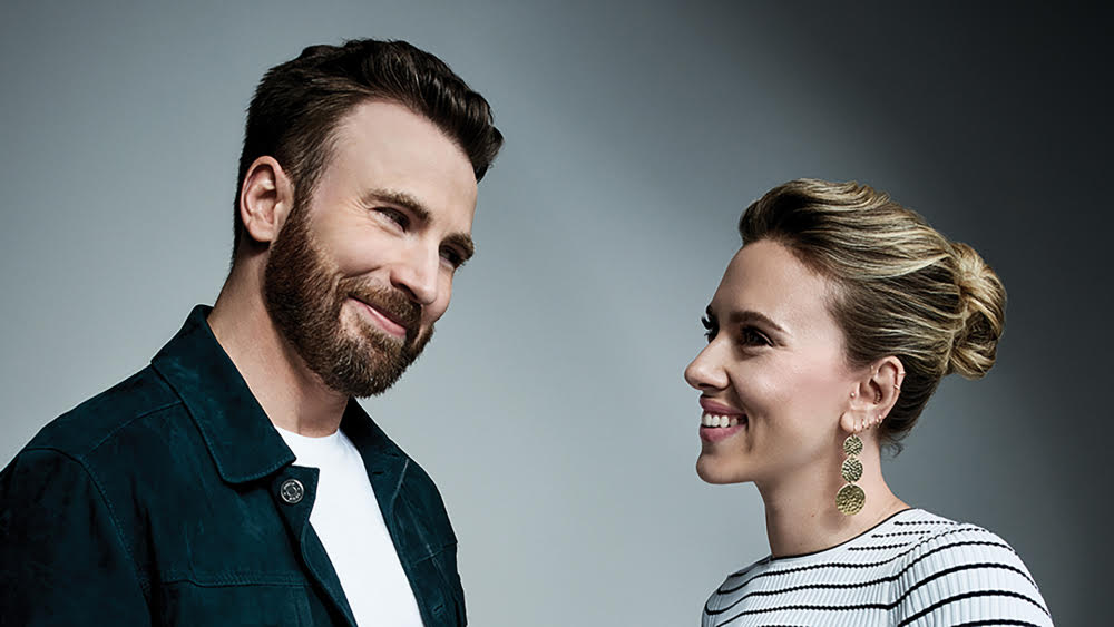 Chris Evans and Scarlett Johansson Discuss Nervous Beginnings with Marvel