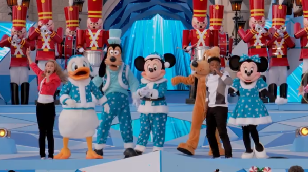 Disney Channel Holiday Party at Walt Disney World Airing Tonight 1