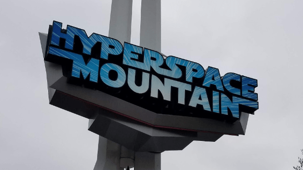 Hyperspace Mountain Overlay being removed to make way for Classic Space Mountain