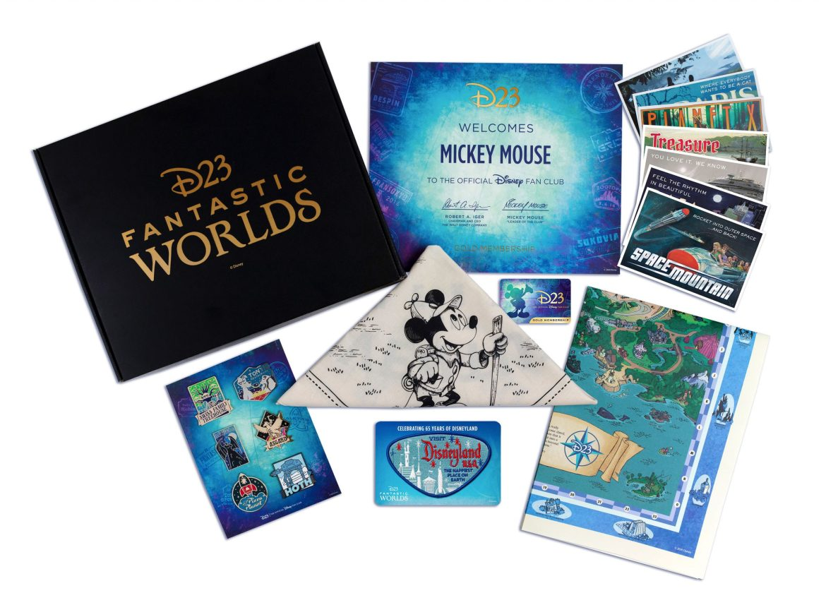 2020 D23 Gold Member Gift just announced