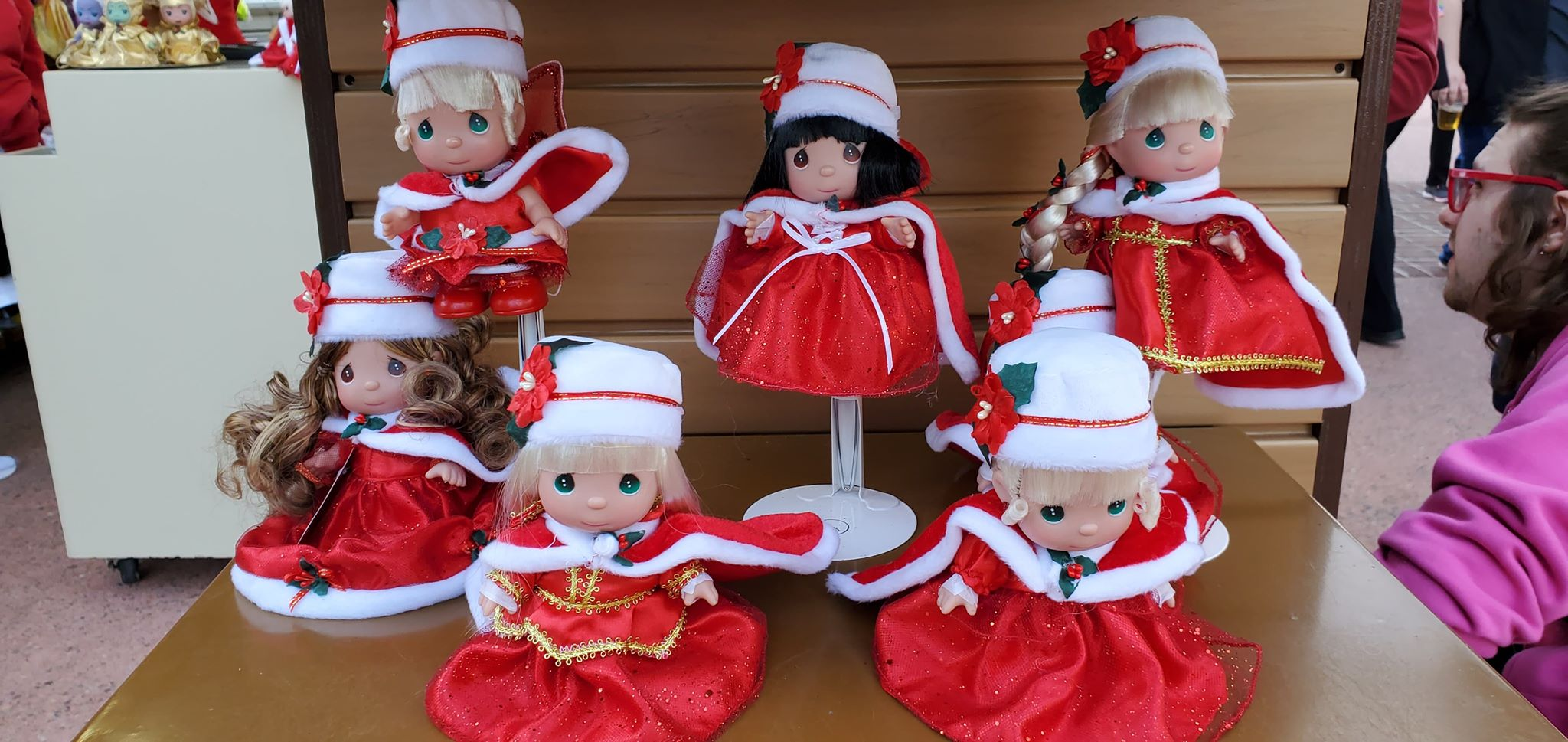 Disney Precious Moments Dolls Are Dazzling For The Holidays 2