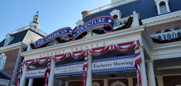 Epcot's America Pavilion Stuns with Its Gingerbread Display 1
