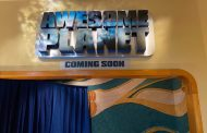 Permanent 'Awesome Planet' Sign Now at 'The Land' in Epcot