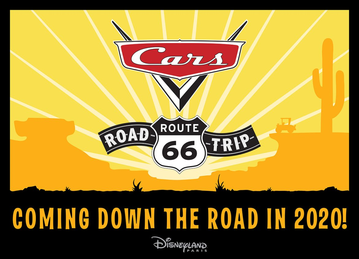 Cars Route 66 Road Trip Coming to Disneyland Paris