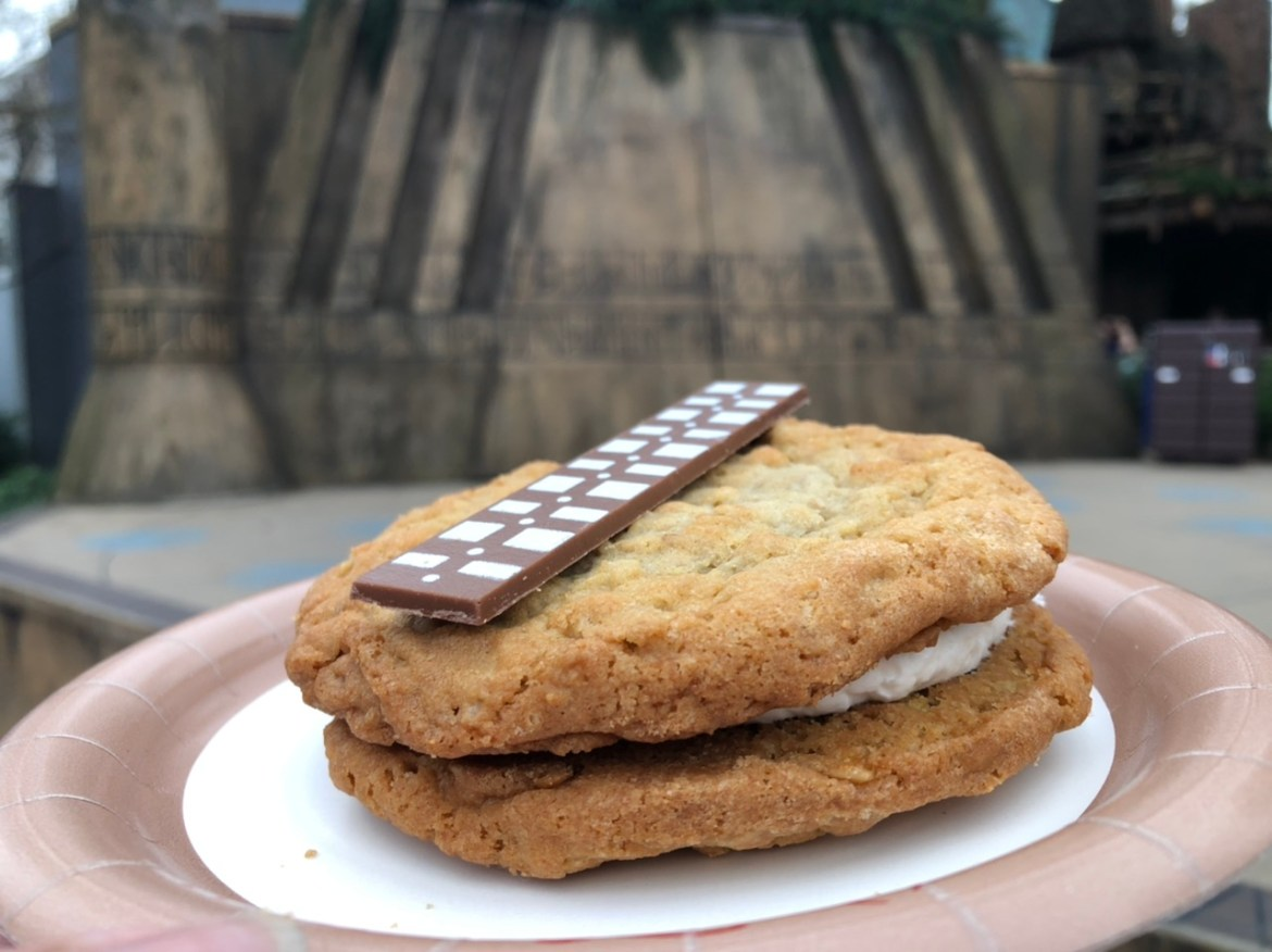 New Wookiee Oatmeal Cookie Sandwich at Disney's Hollywood Studios
