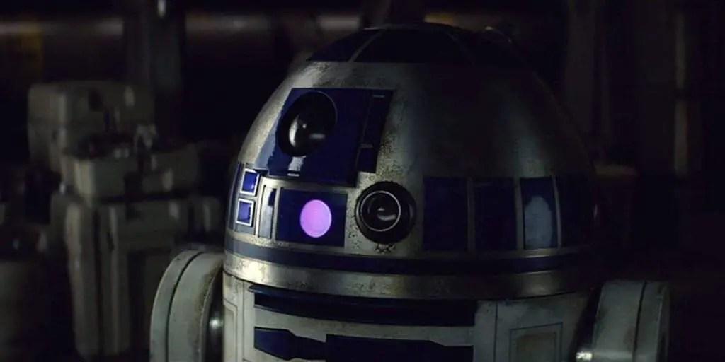 R2-D2 Roaming Around Batuu in Disneyland