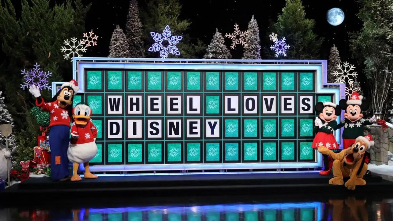 "Contestants Win Disney Vacations on ""Wheel of Fortune"" Secret Santa Weeks"