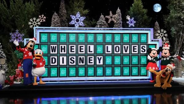 "Contestants Win Disney Vacations on ""Wheel of Fortune"" Secret Santa Week"