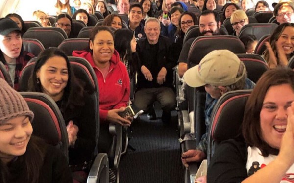 Gary Sinise and American Airlines offer 'Snowball Express' for Children and Families of Fallen Service Members to Visit Walt Disney World 2