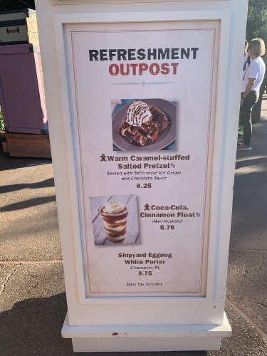 Epcot's Refreshment Port boasts new Holiday Treats 3