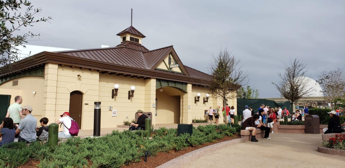 New Restrooms Open at Epcot