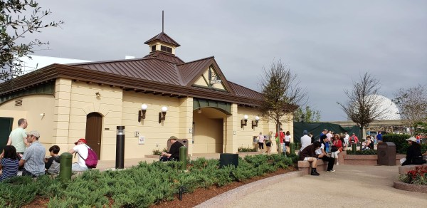 New Restrooms Open at Epcot 2