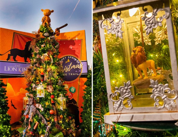 Celebrating Christmas at Disney Springs with these Treats & Trees