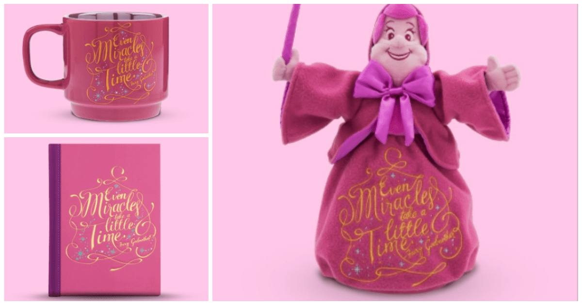 Final Disney Wisdom Collection Features The Fairy Godmother 1