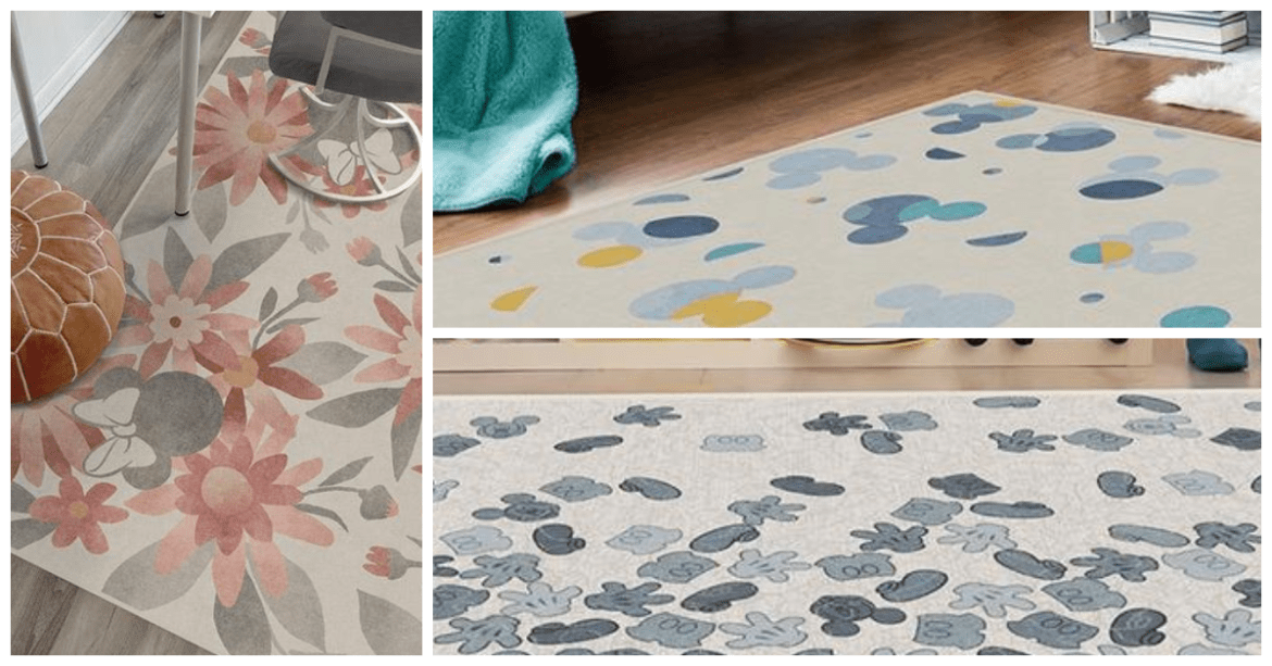 New Disney Rug Collection From Ruggable, The Washable Rugs