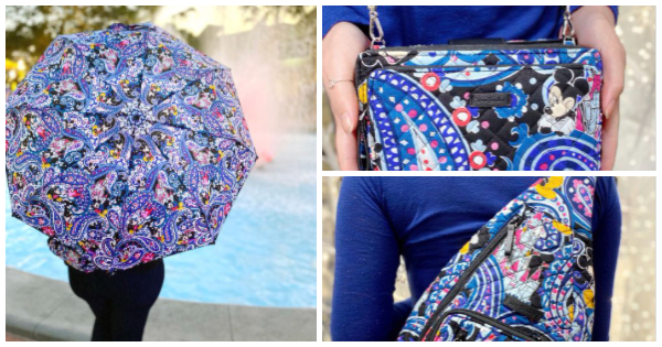 New Styles From The Vera Bradley Mickey Paisley Collection