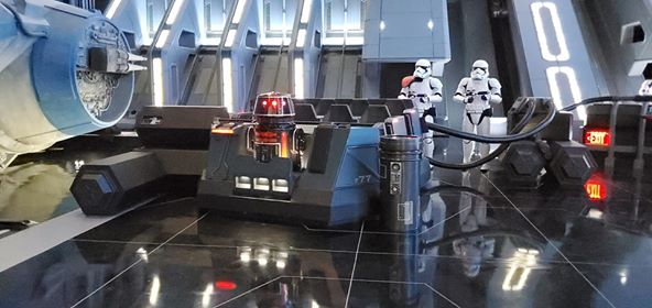 Virtual Ride Queue for Star Wars Rise of the Resistance