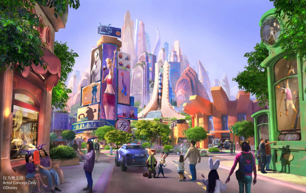 Construction has officially begun on Zootopia Land!