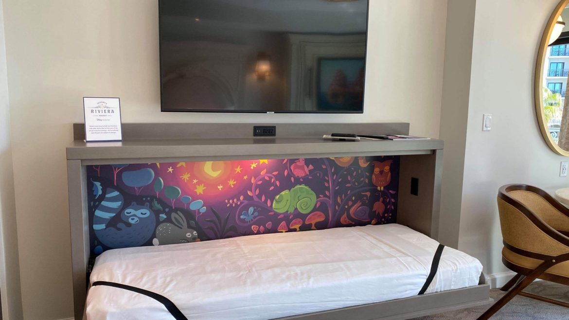 Disney warning guests not to use Trundle Beds at the Riviera Resort