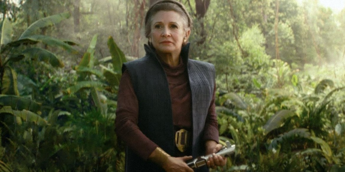 Billie Lourd Filled In For Her Mother As Leia In Flashback Sequence of 'The Rise of Skywalker'