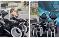 TRON Lightcycles On Display At Magic Kingdom!