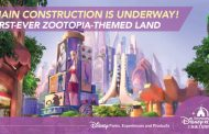 Video: 'Zootopia' Main Construction Begins at Shanghai