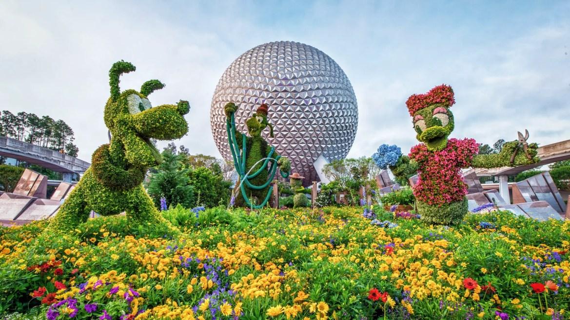 2020 Epcot Flower Garden Festival Topiaries & Gardens