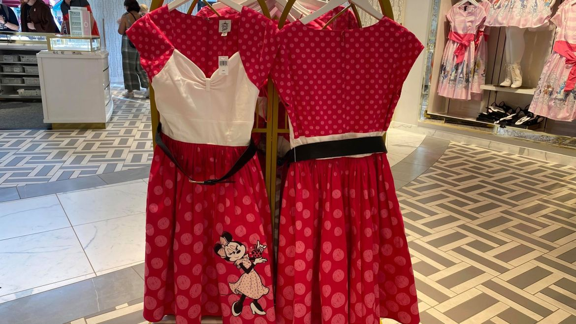The Rock The Dots Disney Dress Is Positively Minnie All The Way