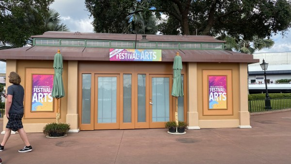 Festival Of The Arts Booths Sighted At Epcot 1