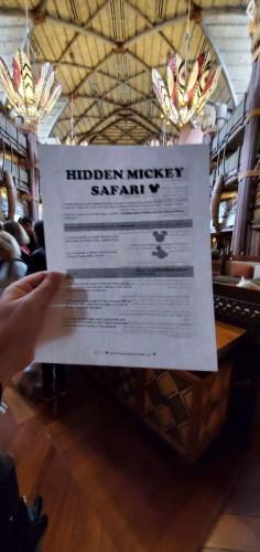 Hidden Mickey Safari at Disney's Animal Kingdom Lodge 4
