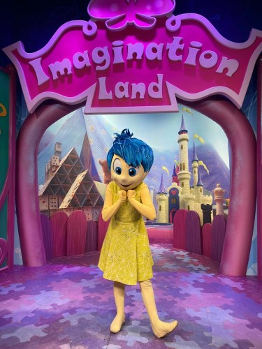Meet Joy From Inside Out At Her New Meet&Greet Location In Epcot! 3