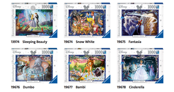 Disney Collectors Edition Puzzles