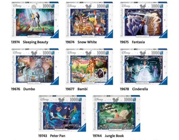 Disney Collectors Edition Puzzles