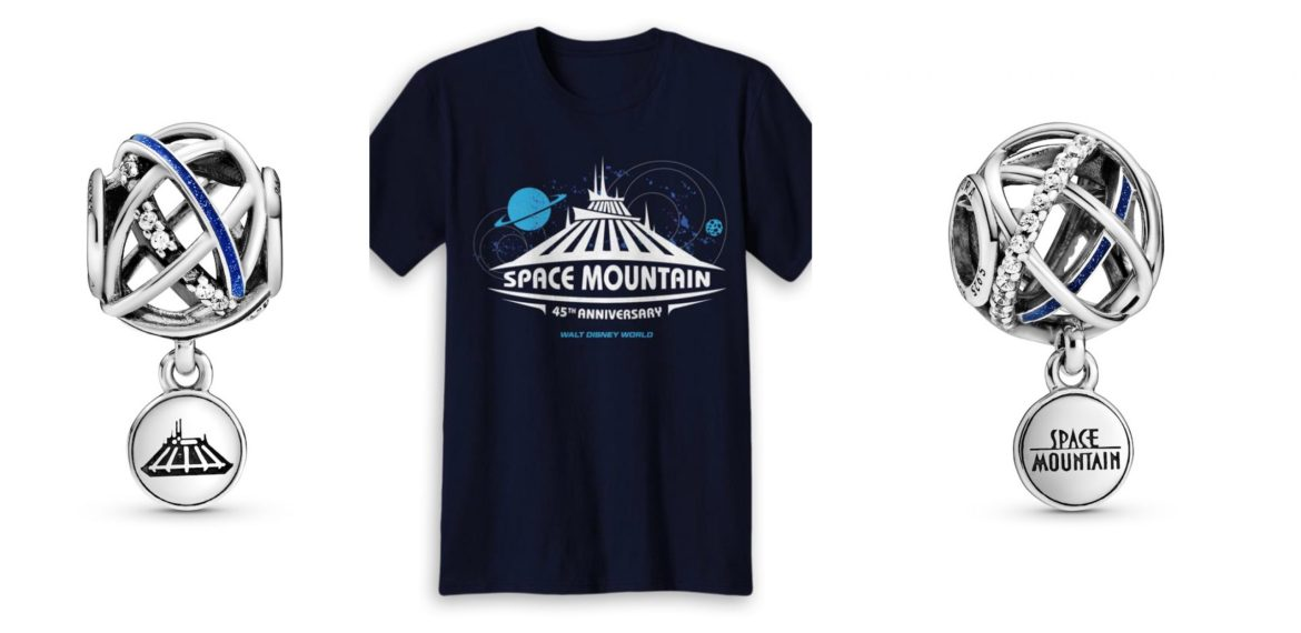 New Merchandise for 45th Anniversaries of Space Mountain and Carousel of Progress