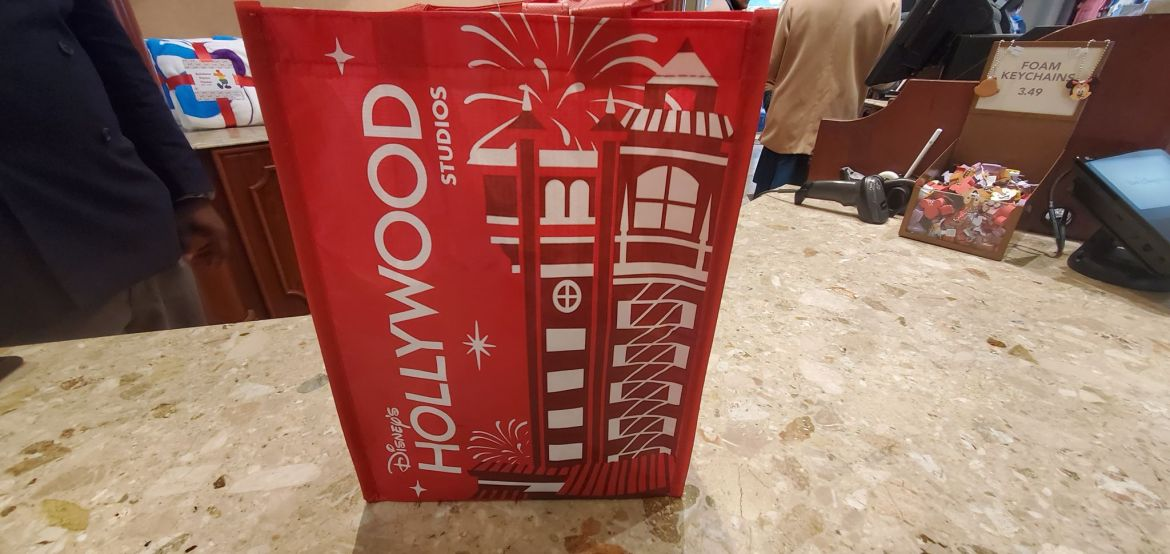 New Reusable Bags at Disney's Hollywood Studios