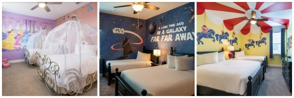 Enjoy a Stay in Disney-Themed Rooms 1