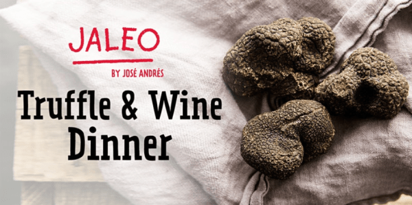 Truffle and Wine Dinner Coming to Jaleo in Disney Springs 1