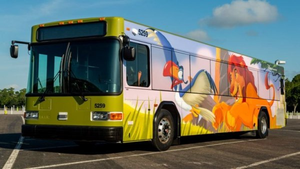 Current Character Buses in Service at Walt Disney World 4