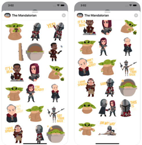 The Mandalorian Stickers Now Available on iOS Devices 3